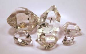 herkimer double point crystal